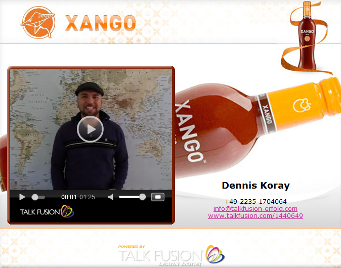 Talk Fusion Xango