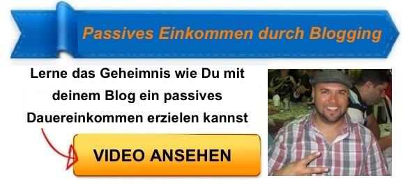 Passives Einkommen Blogging