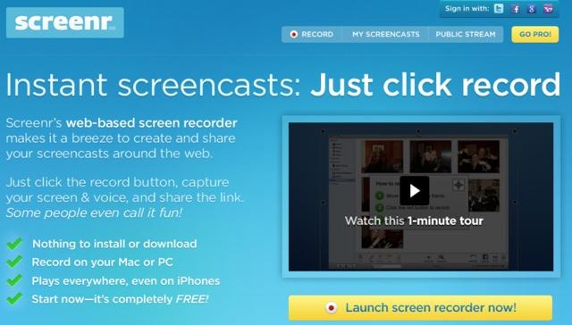 Bildschirmaufnahme Software