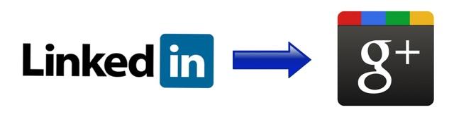 Linkedin Kontakte exportieren zu Google Plus