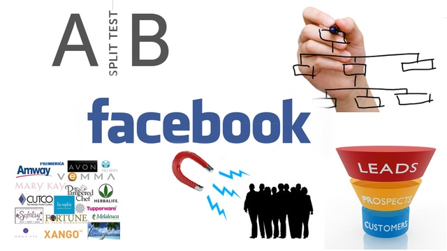 Mehr MLM Leads generieren durch Split Testing und Facebook Werbung
