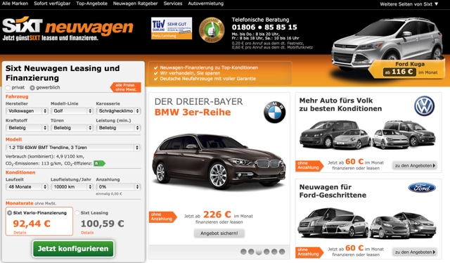 online network marketing blogging videomarketing mehr sixt leasing erfahrung neuwagen