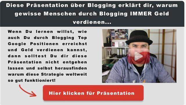 Geld durch Blogging