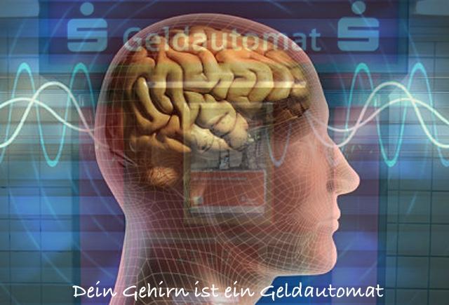Geldautomat Gehirn