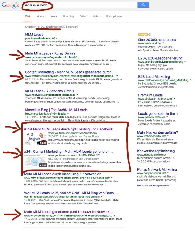 Mehr MLM Leads generieren