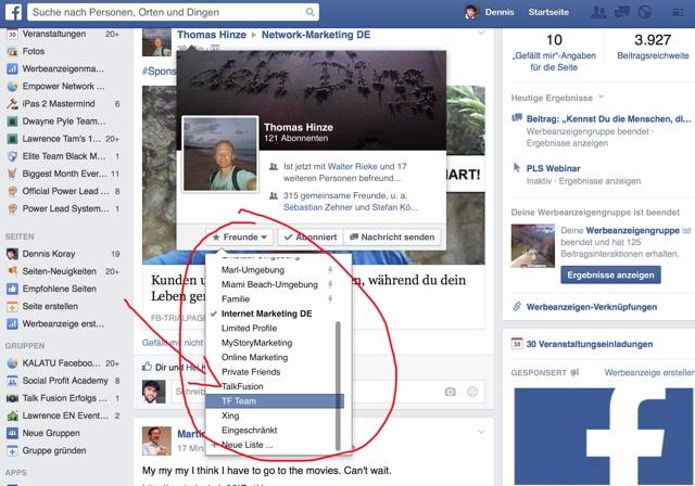 facebook-freunde-arbeitskollegen-trennen