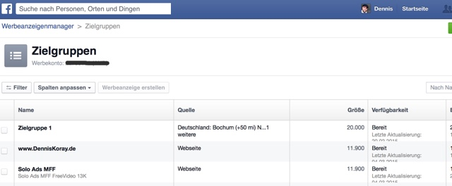 facebook-zielgruppe