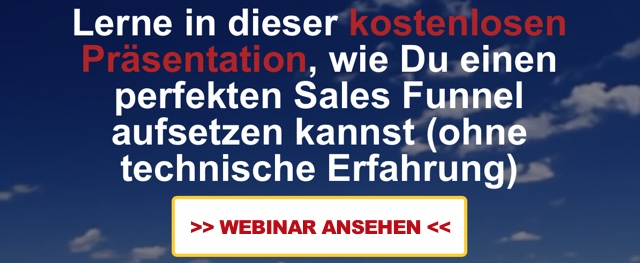 Sales Funnel Webinar