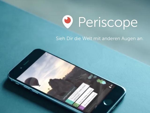 Geld verdienen mit Periscope