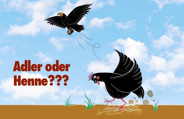 Adler oder Henne