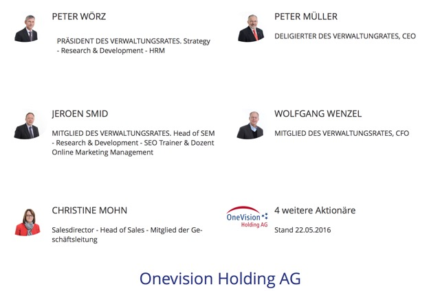 OneVision Holding